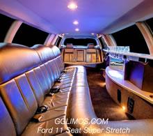 Ford LTD Super Stretch 11 Seat