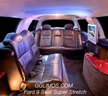 Ford LTD Super Stretch 9 Seat