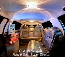 Ford LTD Super Stretch 9 Seat